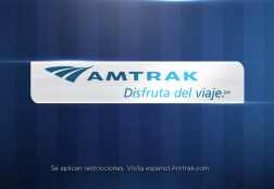 Amtrak Commercial Spot