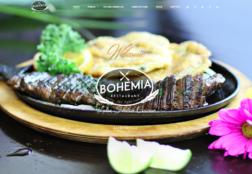 Web Design @ BohemiaRestaurante.com